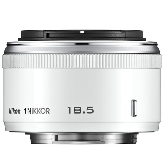 Nikon 1 18.5mm f1.8 Lens - White - 3324 - Open Box Display Model