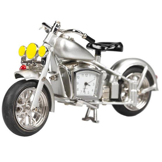 London Drugs Mini Clock - Motorbike - 13.8 x 2 x 5cm