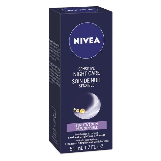 Nivea Sensitive Night Care - Sensitive Skin - 50ml