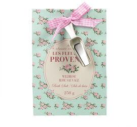 Les Fleurs de Provence Bath Salts - WildRose - 250g