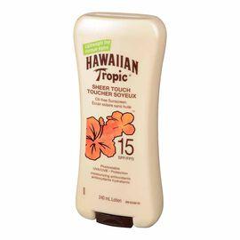 Hawaiian Tropic Sheer Touch Sunscreen - SPF 15 - 240ml