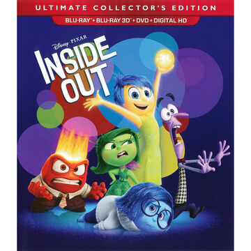 Inside Out - 3D Blu-ray