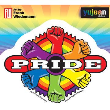 Target Pride Sticker