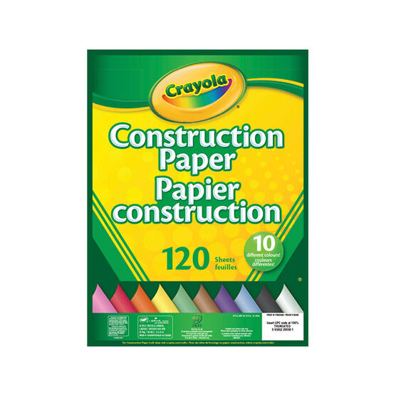 Crayola Construction Paper - 120 sheets