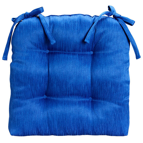London Drugs Brushed Chair Pad - Cobalt