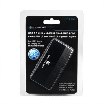 Certified Data Compact USB 3.0 Hub - HY-HB-8516-U3
