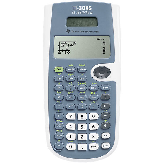 Texas Instruments 30XS MultiView Scientific Calculator