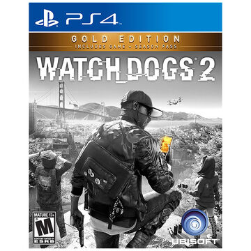 PRE-ORDER: PS4 Watch Dogs 2 Gold Edition