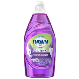 Dawn Ultra Dishwashing Liquid - Mediterranean Lavender - 638ml