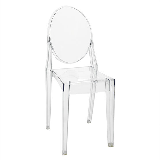 London Drugs Armless Ghost Chair - 49.5 x 38.5 x 90cm