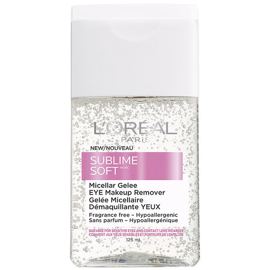 L'Oreal Sublime Soft Eye Makeup Remover - 125ml