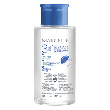 Marcelle 3 in 1 Micellar Solution - 300ml