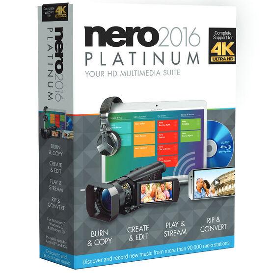 Nero 2016 Platinum Bilingual