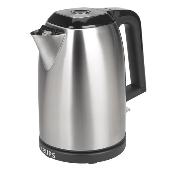Krups Savoy Manual Kettle - Black and Silver