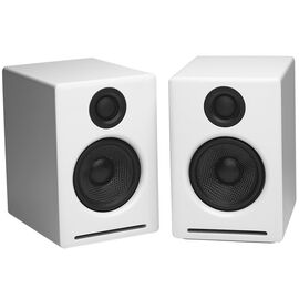 Audioengine A2+ Premium Powered Desktop Speakers - White - A2+W