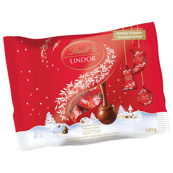 Lindor Milk Chocolate Ornaments - 300g