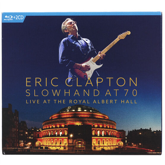 Eric Clapton: Slowhand at 70: Live at the Royal Albert Hall - Blu-ray + CD
