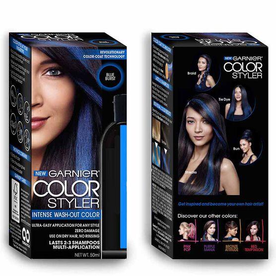 Garnier Color Styler Intense Wash-Out Color - Blue