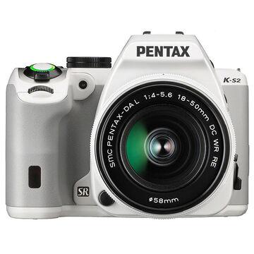 Pentax K-S2 W/18-50 WR Kit - White - 12073