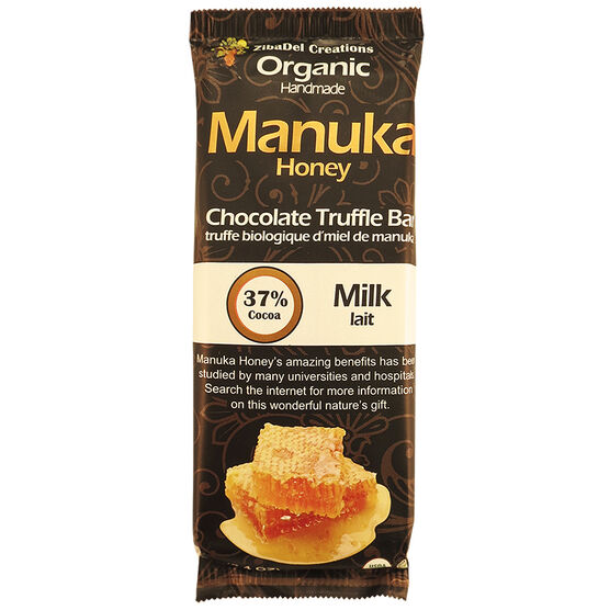 Manuka Honey Chocolate Truffle Bar - Milk Chocolate - 70g
