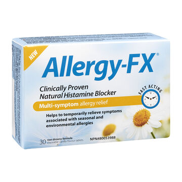 Allergy-FX Natural Histamine Blocker - 30's