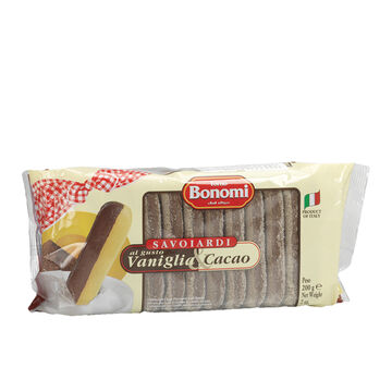 Forno Bonomi Italian Lady Fingers - Vanilla Chocolate - 200g
