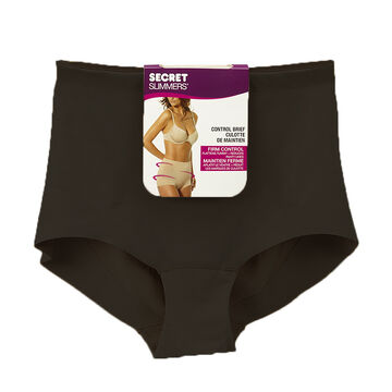 Secret Slimmers Control Brief - Extra Large - Black