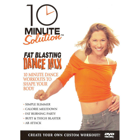 10 Minute Solution: Fat Blasting Dance Mix - DVD