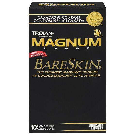 Trojan Magnum Bareskin Condoms - 10's