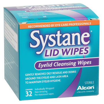 Systane Eyelid Wipes - 32 Wipes