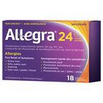 Allegra Allergies - 24 hour  - 120mg/18's