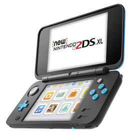 PRE ORDER: Nintendo 2DSXL Hand Held Gaming Console - New Edition - Black / Turquoise