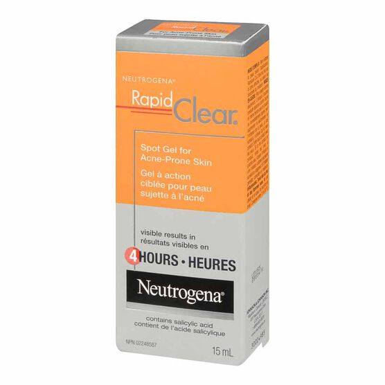 Neutrogena Rapid Clear Spot Gel for Acne-Prone Skin - 15ml