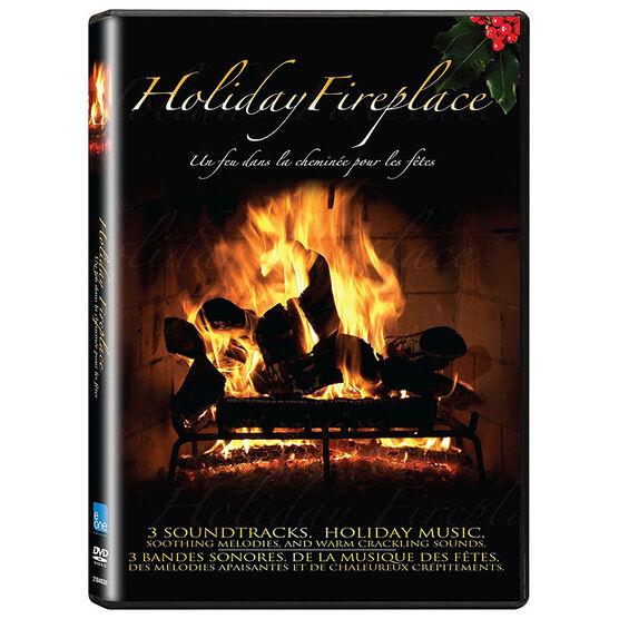 Holiday Fireplace - DVD