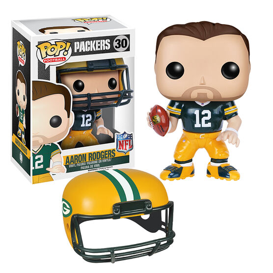 Pop: NFL - Aaron Rodgers Vinyl Figure