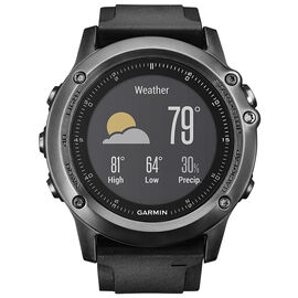 Garmin fenix 3 HR GPS Watch- Grey - 0100133870