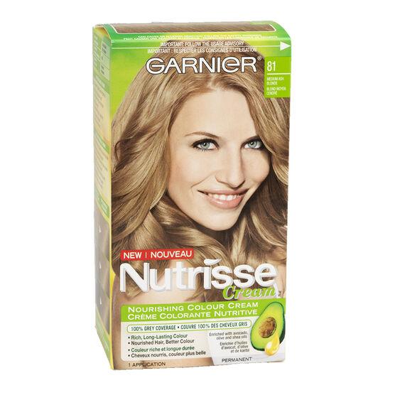 Garnier Nutrisse Cream Permanent Hair Colour 81 Medium