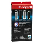 Honeywell Odour and Gas Reducing Carbon Filter - 2 pack - HRF-K2C