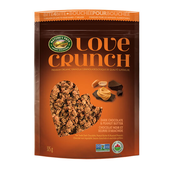 Nature's Path Love Crunch - Dark Chocolate & Peanut Butter - 325g