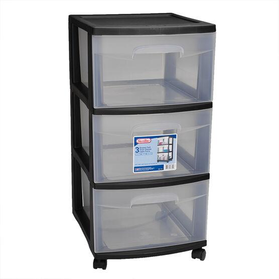 Plastic Storage 3 Drawers