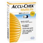Roche ACCU-CHEK Multiclix Lancets - 100+2