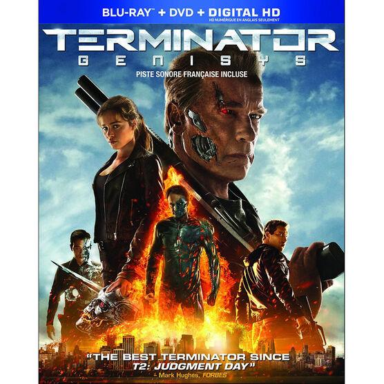 Terminator Genisys - Blu-ray + DVD