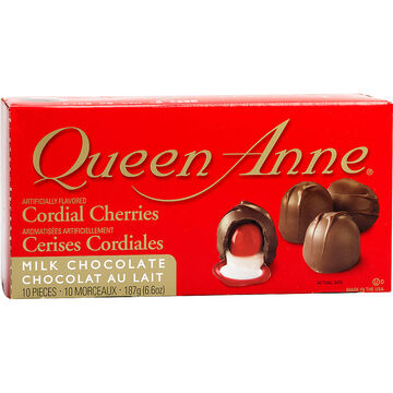 Queen Anne Chocolate Covered Cherries - 187g