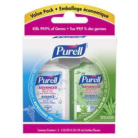 Purell Instant Hand Sanitizer Value Pack - Original - 2x59ml