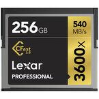 Lexar 256GB Professional 3600x CFast Card - LC256CRBNA3600
