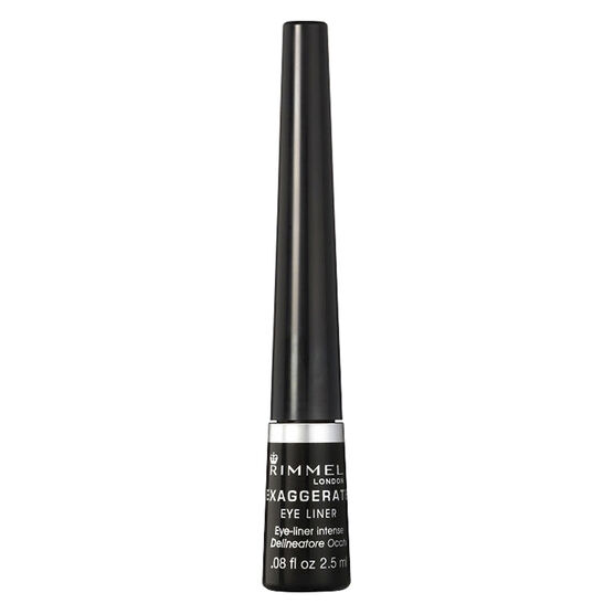 Rimmel Exaggerate Liquid Eye Liner - Black