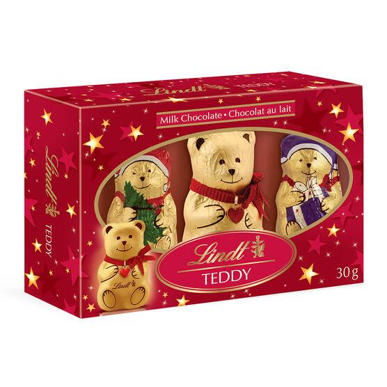 Lindt Bear & Friends Milk Chocolate - 3 pack