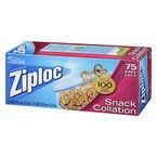 Ziploc Snack Bags - 75's