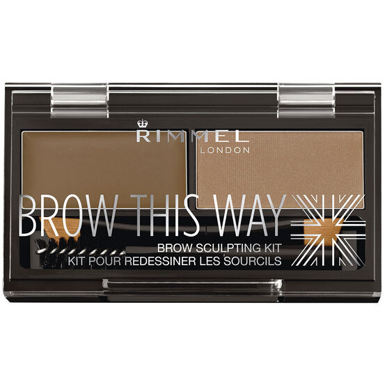Rimmel Brow This Way Eyebrow Sculpting Kit - Blonde