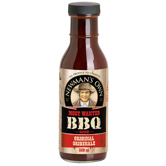 Newman's Own BBQ Sauce - Original - 350ml
